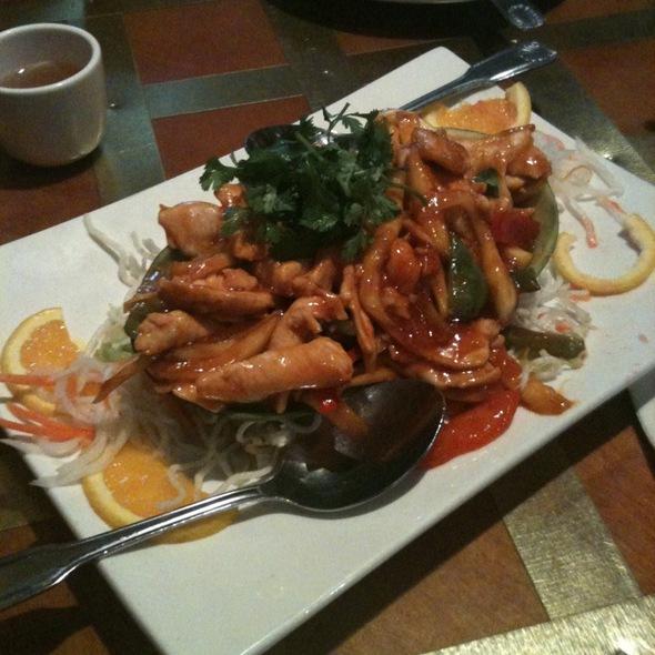 Thai Mango Chicken @ Penang Malaysian Cuisine