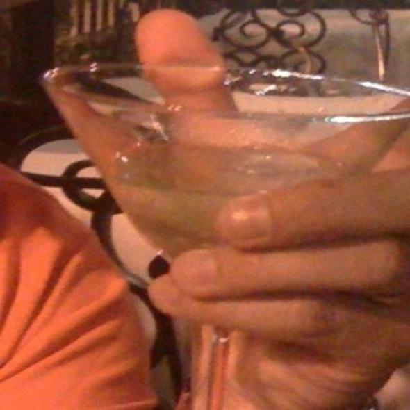 Grey Goose Martini @ Currant Restaurant