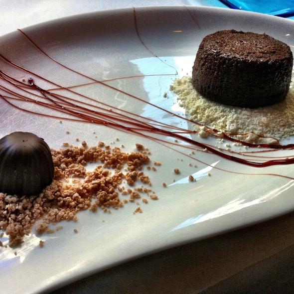 flourless chocolate cake @ Atwood