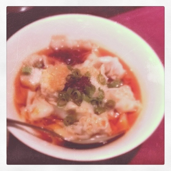 Dumplings In Chili Oil @ Han Dynasty