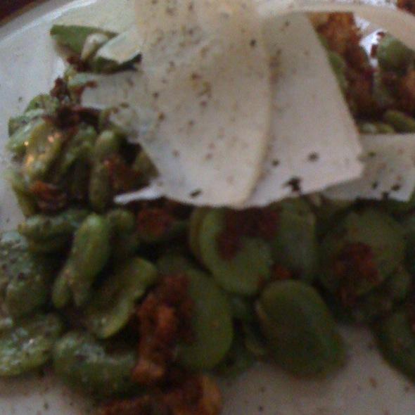 Spring Fava Bean Salad - Sfoglia, New York, NY