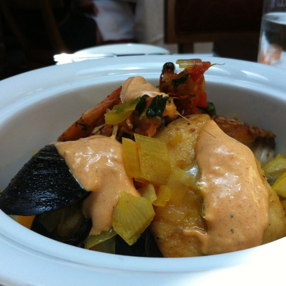Bouillabaisse - Restaurant Eve, Alexandria, VA