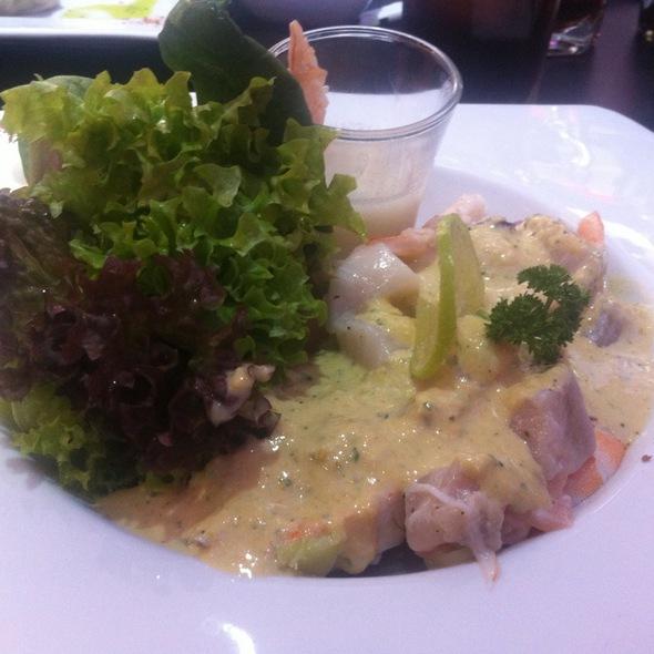 Ceviche A La Huancaina  @ Sushiban