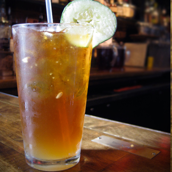 Pimm's Cup @ D.B.A. Barbecue