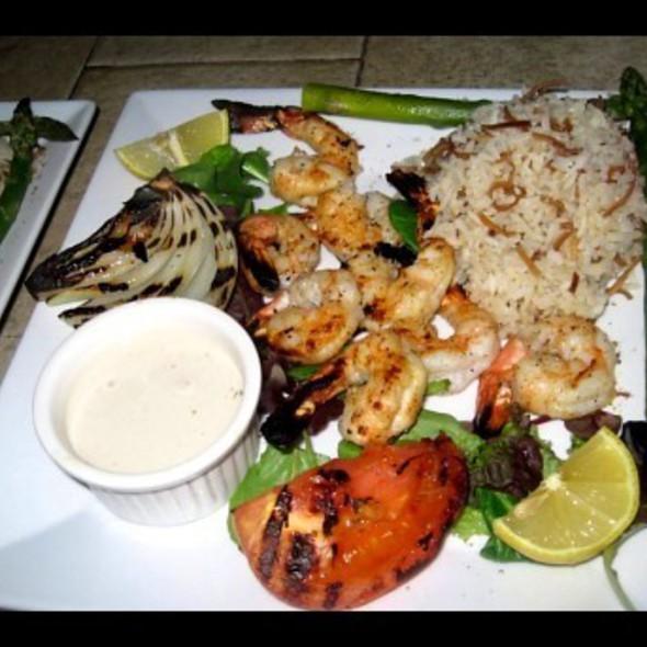 Shrimp Kabobs @ Le Caire Lounge