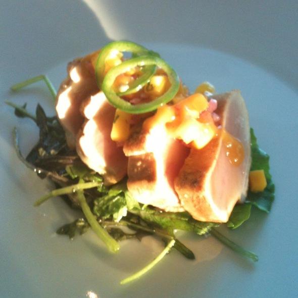 Albacore Tuna Tataki @ C5 Restaurant Lounge