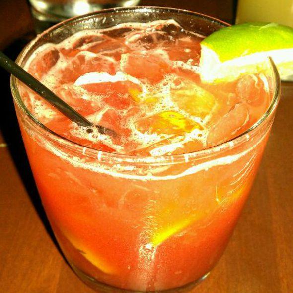 Strawberry Caipirinha @ E&O Kitchen and Bar