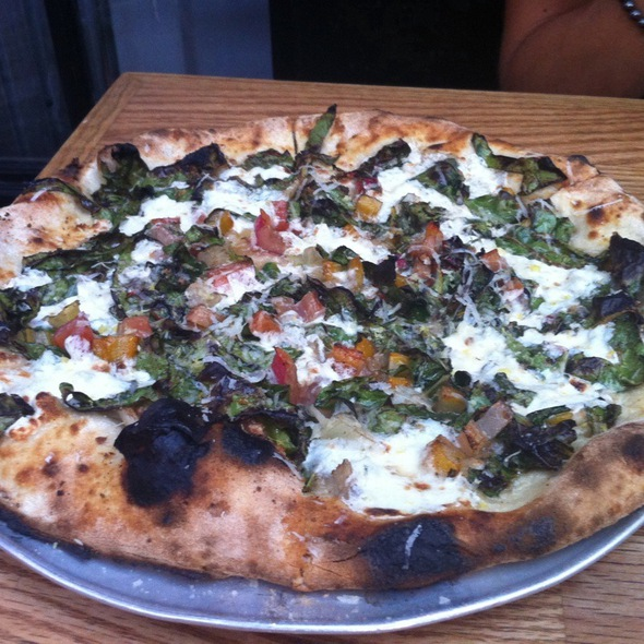 Rainbow Connection Pizza @ Roberta's