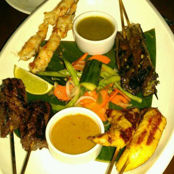 Satay Platter @ E&O Kitchen and Bar