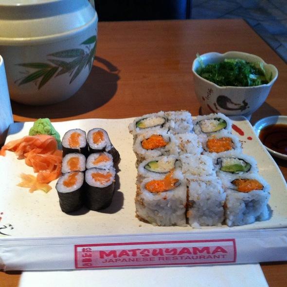 Maki Combo C @ Matsuyama Japanese Restaurant