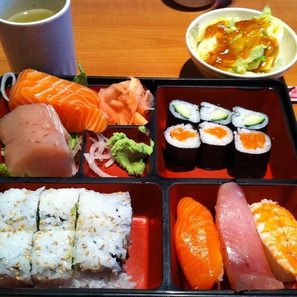 Sushi Combo @ Matsuyama Japanese Restaurant