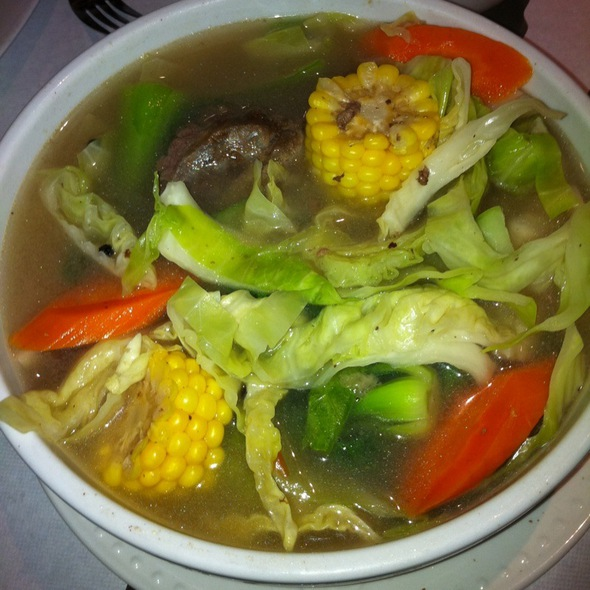 Bulalo Soup @ Intramuros Restaurant Bar