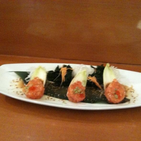 Salmon Tartare @ Tomoyoshi