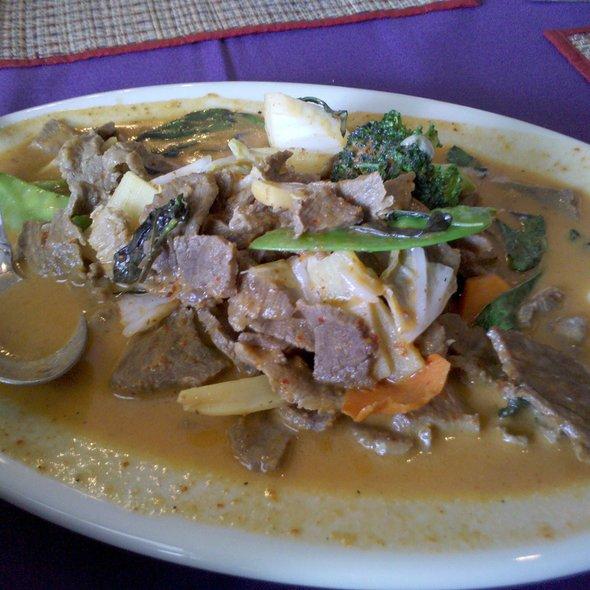 Beef Panang @ Singha Thai Restaurant