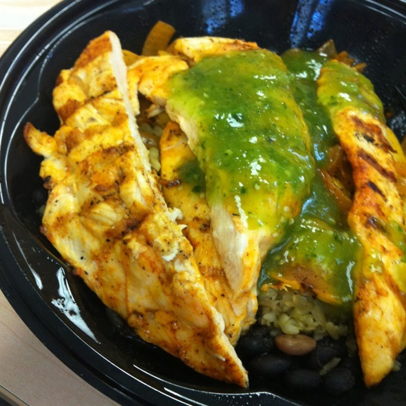 Skinny Chicken Bowl @ Baja Fresh Mexican Grill