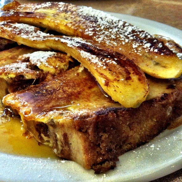 Banana Bread Pudding French Toast @ Bill's Cafe