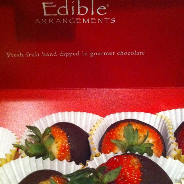 Chocolate Covered Strawberries @ Edible Arrangements