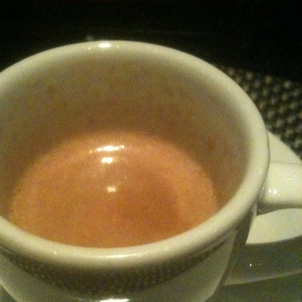 Double Espresso And Sambuca - Red, the Steakhouse - Beachwood, Beachwood, OH