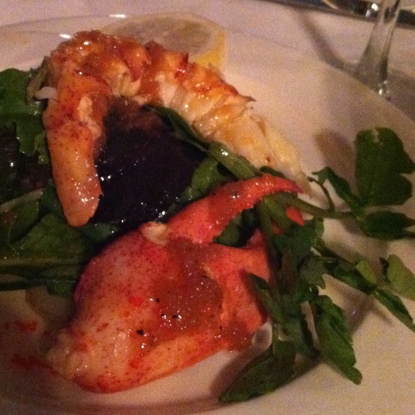 Lobster Salad - Chez Josephine, New York, NY