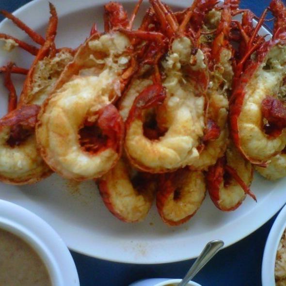 Lobsters @ Puerto Nuevo
