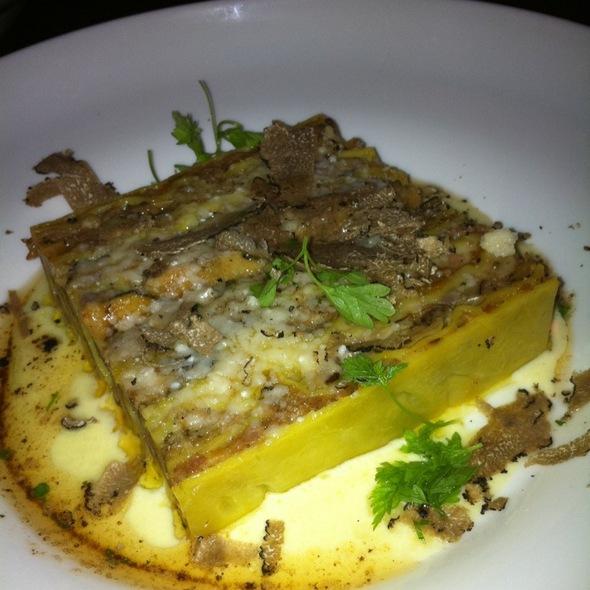 Lasagne or Vincisgrassi @ SPQR