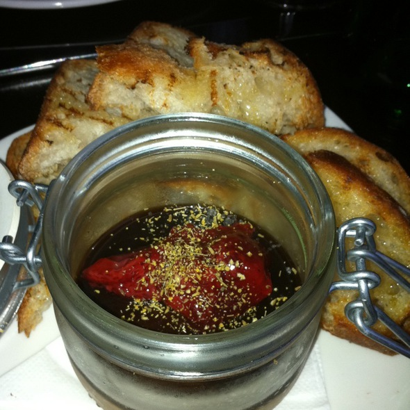 Chicken Liver Pate And Strawberry Jam @ SPQR