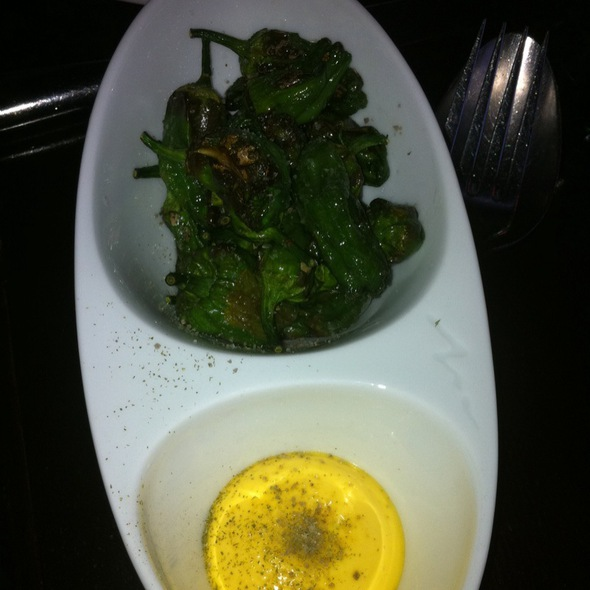 Roasted Padron Peppers @ SPQR