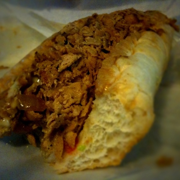 Chicken Cheesesteak Hoagie @ South Philly Cheesesteaks