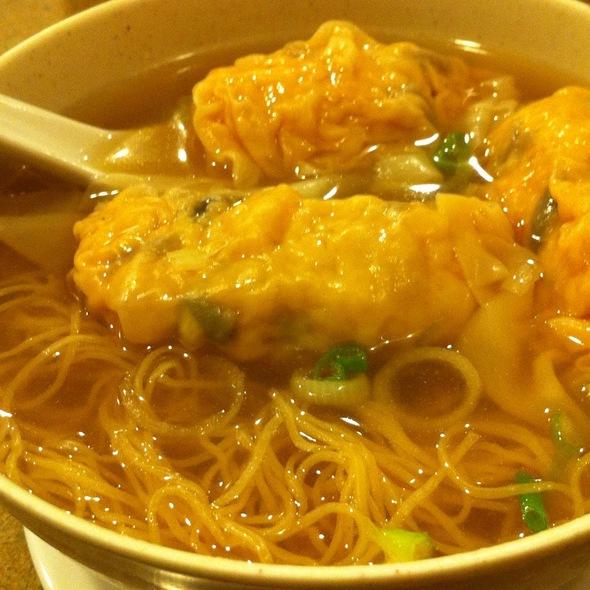 Dumpling Noodle Soup @ Tsim Chai Noodle Restaurant Ltd