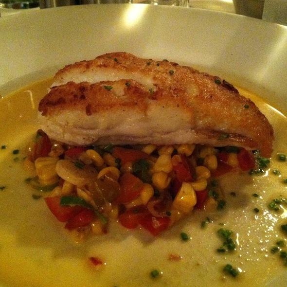 Seared Long Island Fluke - Atlantic Grill, Eastside, New York, NY