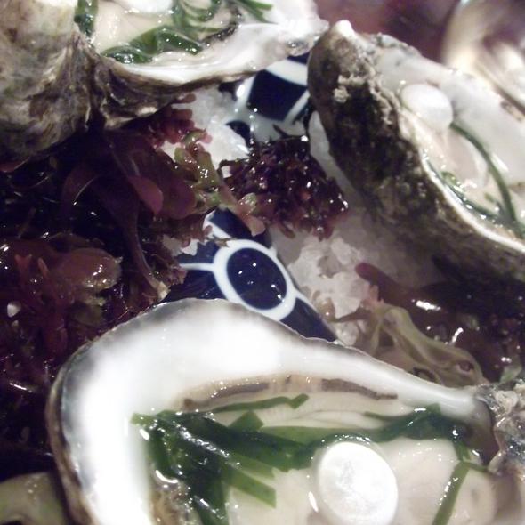 Oysters with their pearls @ Tickets