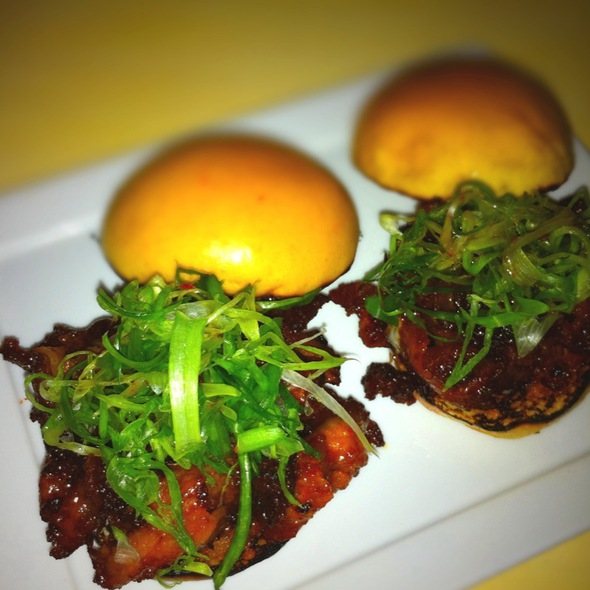 Spicy Pork Belly Sliders @ Danji