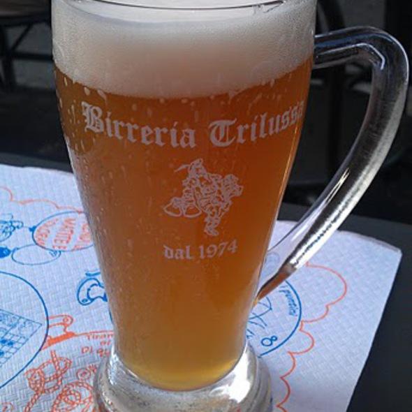 Birra oberdorfer weissbier @ Birreria Trilussa