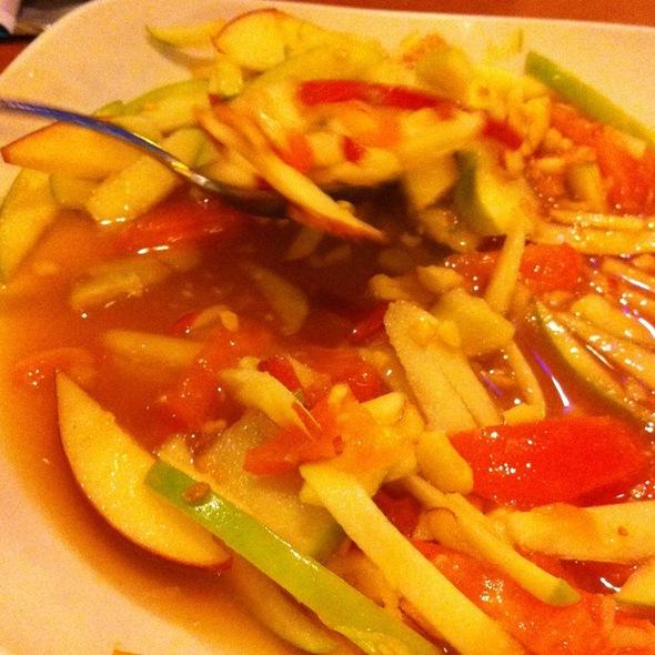 Apple Salad @ Thai Avenue