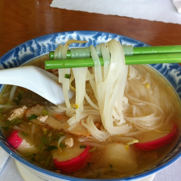 Seafood Tom Yum Noodles (3103)  @ Thai Avenue