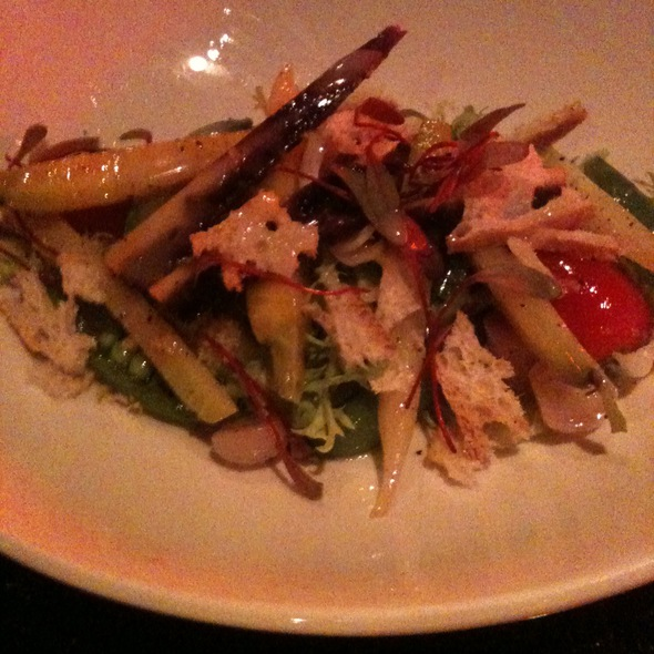 Spring vegetable salad @ Mosaic Modern Fusion Cuisine