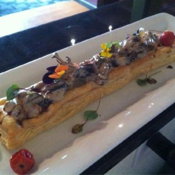 Local Shiitake & Organic Mushroon Tart @ Mosaic Modern Fusion Cuisine