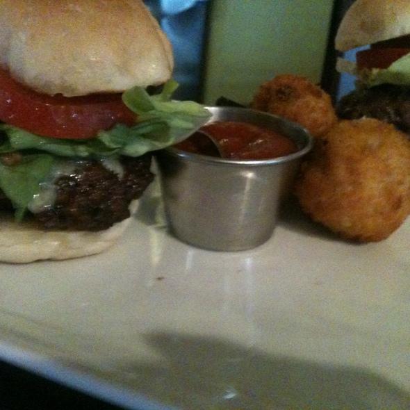 Short Rib Mini Burgers @ Mosaic Modern Fusion Cuisine