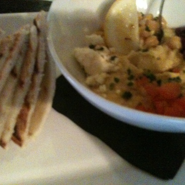 North African Style Hummus @ Mosaic Modern Fusion Cuisine