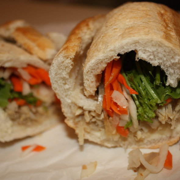 Shredded Pork Chop Banh Mi