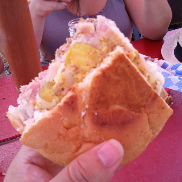 Cuban Sandwich @ The Texas Cuban