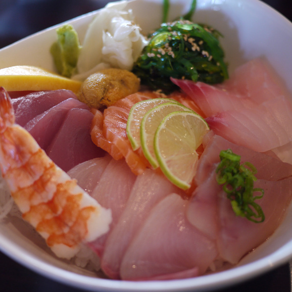 Chirashi Deluxe @ Oh My Sushi