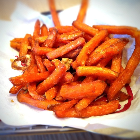 Sweet Potato Smashfries @ Smashburger
