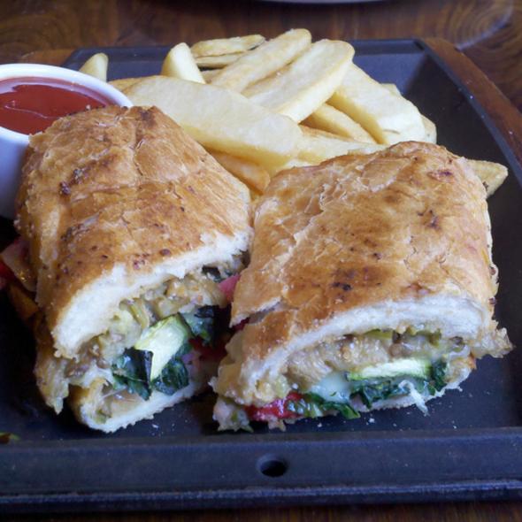 Pressed Veggie Cubano Sandwich @ Ironside