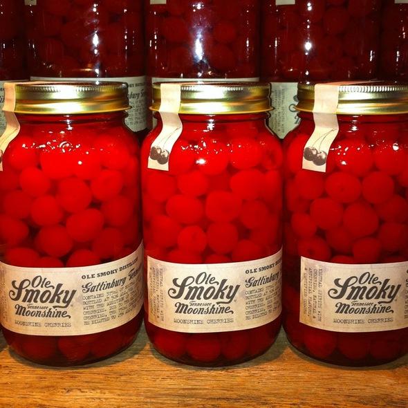 Moonshine Cherries @ Ole Smoky Distillery