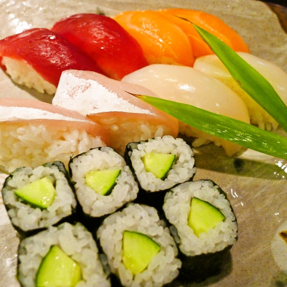 Nigiri Sushi @ Aji Kagu Ra
