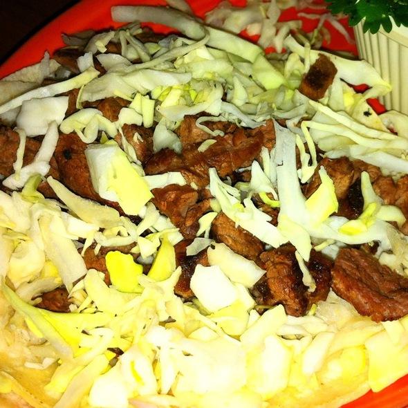 Carne Asada Taco At Los Olivos Mexican Patio