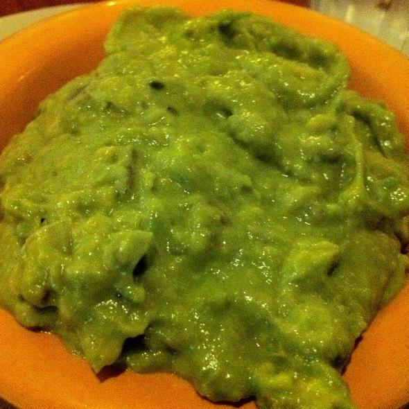 Guacamole And Chips At Los Olivos Mexican Patio