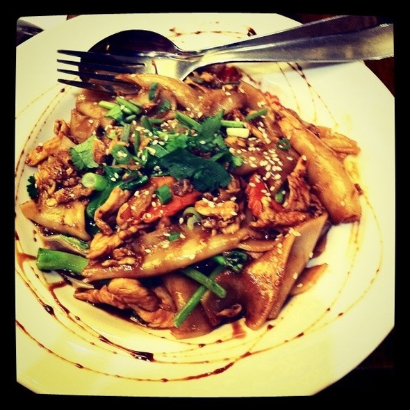 Chicken Pad See Ew @ Holy Basil