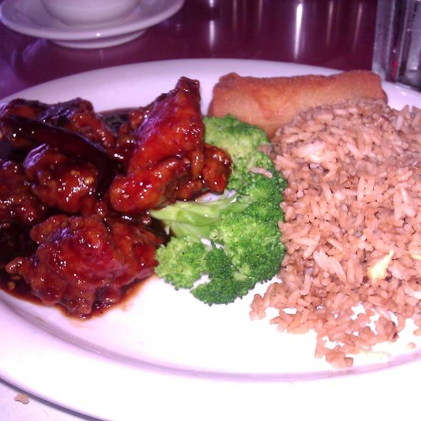 General Tso's Chicken @ Auntie Chang's Dumpling House